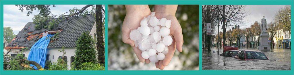 stormschade hagelschade tegenexpertise prive expert schade door sneeuw